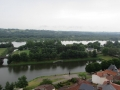 vue sur la Loire du haut du donjon
