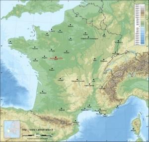 212 km Notre-Dame-d'Oé (Indre et Loire)