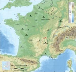 547 km Chauffailles (Saône et Loire)