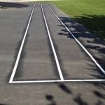 2 lignes de course